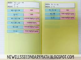 algebra proofs book mrs newell u0027s math