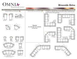 Omnia Furniture Quality Omnia Riverside Drive Reclining U2013 Leather Showroom