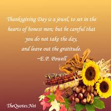 thanksgiving inspirational quotes family friends