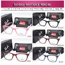 Jual Frame Ban Wayfarer frame kacamata rayban rb8240 terbaru