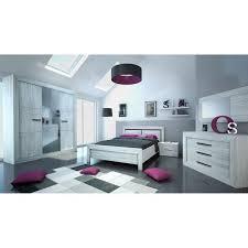 chambre style neva armoire de chambre style contemporain décor gris clair l 230