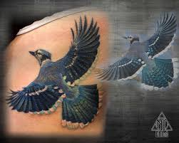 tattoo blue jay by coconut cocacola on deviantart