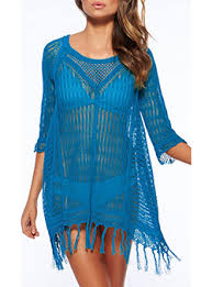 blue cover ups cheap price