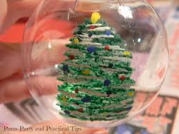 pams party u0026 practical tips christmas tree ball ornament