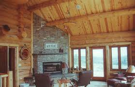 log homes interior interior work u2013 handcrafted log homes