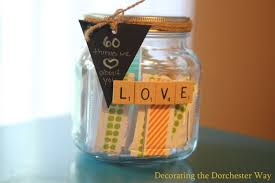 60 things for 60th birthday 60th birthday party gift create a things we about you jar
