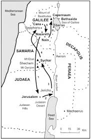 the bible journey jesus travels to jerusalem