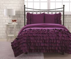 Bedroom Ideas With White Down Comforter Bedroom Black And Purple Ornate Patterned Bedding Sets Mixed Twin