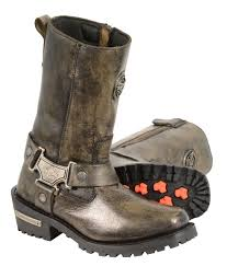 womens boots distressed leather s distressed brown motorcycle boots genuine leather