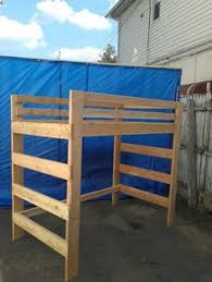 Wood Twin Loft Bed Plans by Chicago Loft Beds Solid Wood Loft Bed Kits Choose Any Clearance