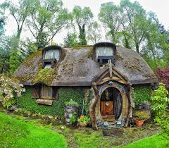 so my uncle built and lives in his very own hobbit house pics