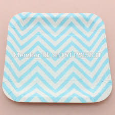 wedding party plates disposable 7 square paper plates wedding party supplies chevron