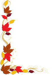Thanksgiving Borders Clip Web Design Clip Leaves And Autumn