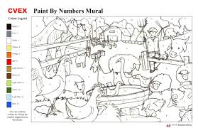paint by number mural kits wall murals you ll love printable paint by number wallpaper cuberpress com