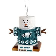 philadelphia eagles smores ornament