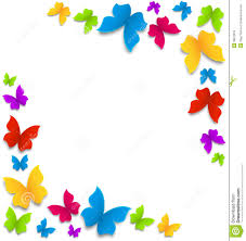 rainbow butterfly clipart flower butterfly pencil and in color