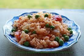 cuisine avec du riz recette de riz aux légume sauté avec la sauce tomate