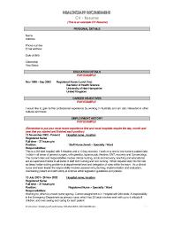 sample nursing cover letter new grad overseas nurse cover letter