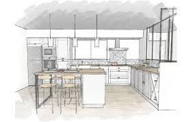 cuisine en u avec ilot plan de cuisine en u élégant plan de cuisine avec ilot plan tage