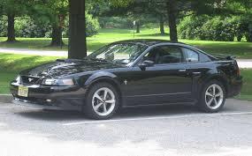 A Black Mustang 2003 Mach 1