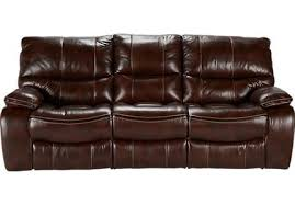Brown Leather Recliner Cindy Crawford Home Leather Furniture