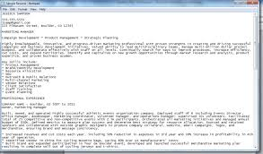 Plain Resume Template Free Resume Format Free Resume Templates College Resume Format