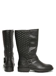 motorcycle boots shoes black u0027tiffany u0027 biker boots shoes u0026 boots dorothy perkins