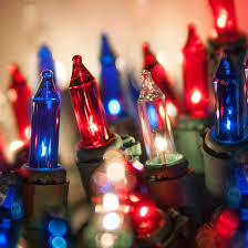 red and white bulb christmas lights winsome red mini christmas lights 100 led bells green and 50 count
