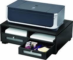 Under Desk Printer Stand With Wheels Under Desk Printer Stand With Drawers Best Home Furniture Decoration