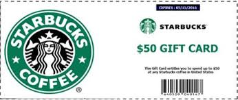 starbuck gift card deal beware of get a free 50 starbucks gift card to celebrate 45th
