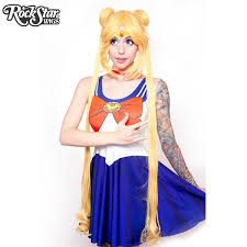 cosplay wigs usa store character frozen inspired anna rockstar