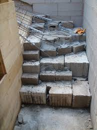 treppe betonieren keller hausbaublog andrea und philipp