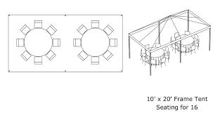 how many tables fit under a 10x20 tent elite events rentals tips tools elite events rentals