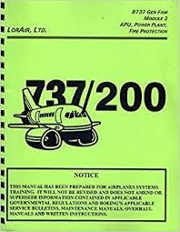 boeing 737 gen fam module 3 737 200 maintenance training manual