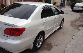 2005 toyota corolla review toyota corolla se saloon automatic 2005 for sale in islamabad