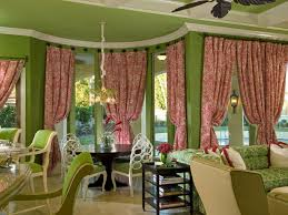 Light Pink Window Curtains Accessories Captivating Green Home Interior Decoration Using