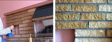 Fireplace Brick Stain by Fireplaces Dyebrick