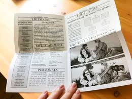 newspaper wedding programs our newspaper programs wedding brockville diy