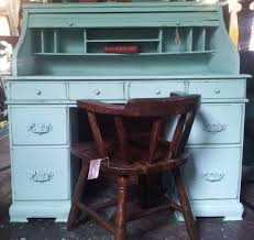 vintage roll top desk value vintage roll top desk and chair set antique handpainted furniture