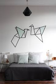 how to change your home s look without spending a fortune masking tape wall art