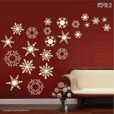 Christmas Wall Pictures by Christmas Christmas Wall Decorations For Large Spaceschristmas