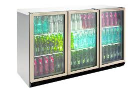 williams bottle cooler bc3ss 3 door fridge general counters u0026 back