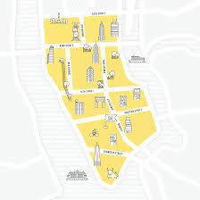 Creative Maps Nyc Spot U0026 Map Illustration Maple Creative