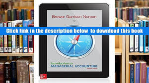 free download introduction to managerial accounting peter c
