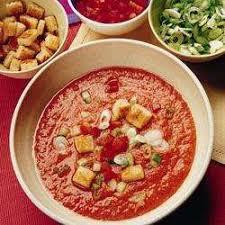 recette cuisine gaspacho espagnol recette gazpacho andalou toutes les recettes allrecipes