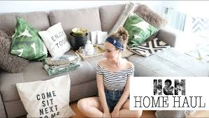 Hm Home Decor by H U0026m Home Haul Unboxing Miss Cuqui Youtube