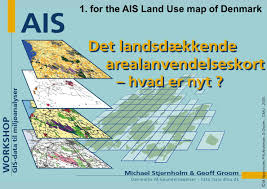 Map Of Denmark Ais Land Cover Map Of Denmark Examples Of Its Application Ppt