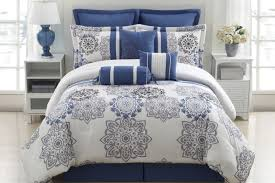 bedding set astounding ebay blue and white bedding glamorous