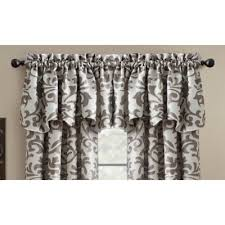 Lucia Valance Buy Gray Valance From Bed Bath U0026 Beyond