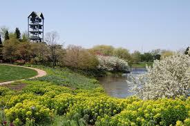 Chicago Botanic Garden Restaurant Crabapple Blossoms At The Chicago Botanic Garden Gardeninacity